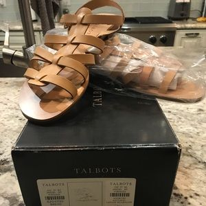 New Talbots natural sandals!